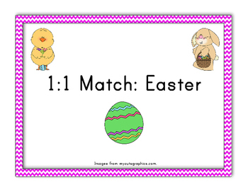 1:1 Simple Easter Match