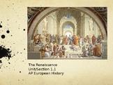 1.1 The Renaissance - Presentation