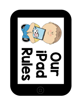 1:1 iPad Rules Posters