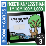 1*10*100*1,000 More Than or Less Than (Place Value Concept