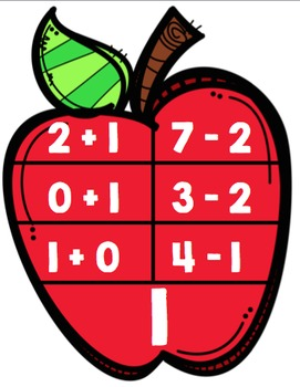 Addition & Subtraction within 10: Math Clip Cards Freebie