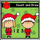 1-10 Count and Draw (Christmas Edition)