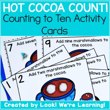1-10 Counting Activity: Hot Cocoa Count!