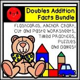 1-10 Doubles Addition Facts Bundle