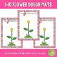 1-10 Flower Counting Playdough Mats