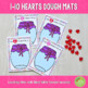 1-10 Hearts Counting Playdough Mats