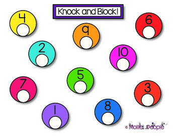 1-10 KNOCK and BLOCK!  A Game Like BUMP