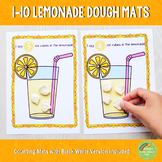 1-10 Lemonade Playdough Mats