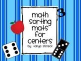 1 - 10 Math Sorting Mats