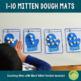 1-10 Mittens Counting Playdough Mats