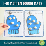 1-10 Mittens Counting Playdough Mats