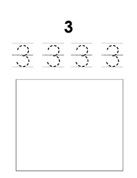 1-10 Number Book
