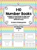 1-10 Number Books