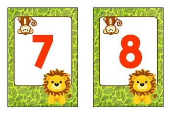 1-10 Number Cards
