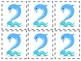 0-9 Number Cards: Sea Animals