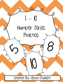 1-10 Number Sense Practice
