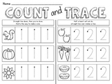 1-10 Number Tracing Book
