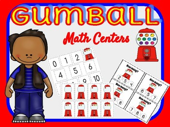 1-10 Numbers Math Center