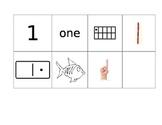 1-10 Pocket Chart Match