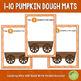 1-10 Pumpkin Counting Dough Mats