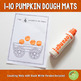 1-10 Pumpkin Counting Playdough Mats