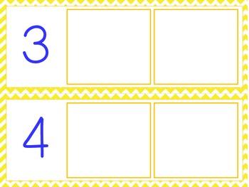 1-10 Summer Numbers