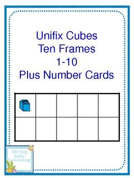 Simfit Unifix Compatable  Cubes  10 x 10 Teachers Educational Resource