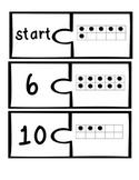 1-10 Ten Frame Dominoes