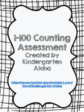 1-100 Counting Assessment