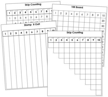 1-100 Math Series