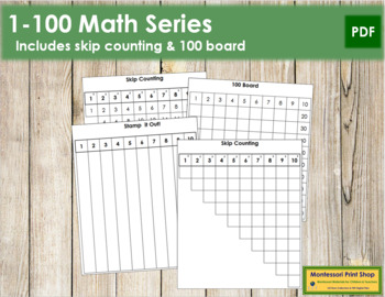 1 to 100 Math Series
