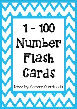 Sly image inside printable number cards 1 100