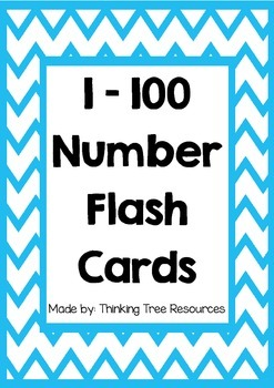 Challenger image in number flash cards printable 1 100