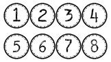 1-100 Number Line Bundle