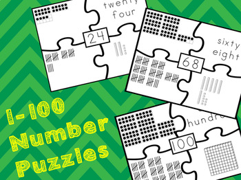 1-100 Number Puzzles