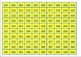 1-1100 Counting Chart for Grade One - Grade Three