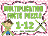 1-12 Multiplication Facts Puzzles