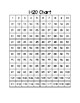 1-120 Chart with Fill in the Blank Activity