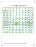 1-120 Hundreds Chart Puzzles