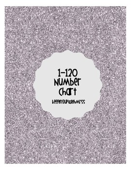1-120 Number Chart {FREE}