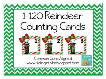 1-120 Reindeer Cards