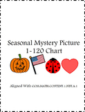 1-120 chart Seasonal Mystery Picture CCSS Aligned