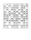 1-120  with missing numbers