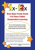 Quiz Quiz Trade 1-12 Times Table Cards Bundle