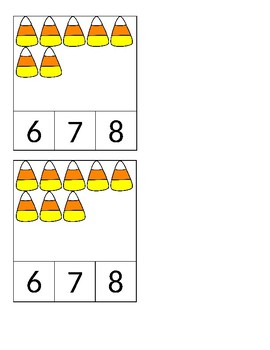 1-15 candy corn count and clip