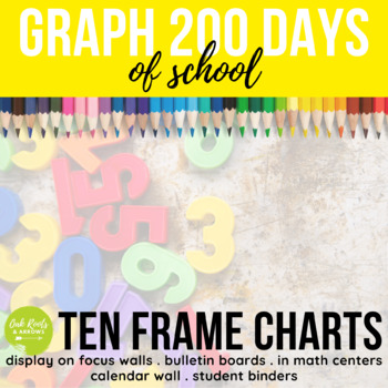 10-180 Ten Frame Number Charts: Graph the Number of School Days!