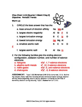 1-2-2 Quarter 1 Week 2 Day 2 answers