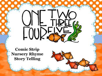 1, 2, 3, 4, 5....Fish Alive - Comic Strip Nursery Rhyme St