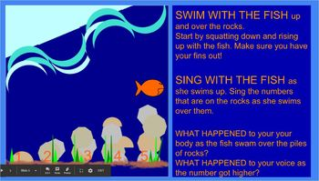 1-2-3-4-5 Once I Caught a Fish Alive -POWERPOINT- mel. line - long/short-ta/titi