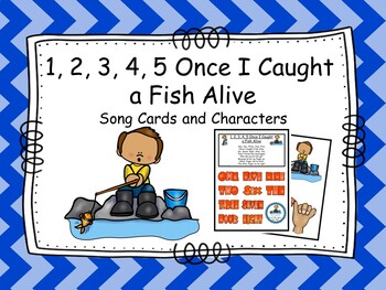 1, 2, 3, 4, 5 Once I Caught a Fish Alive- Song
